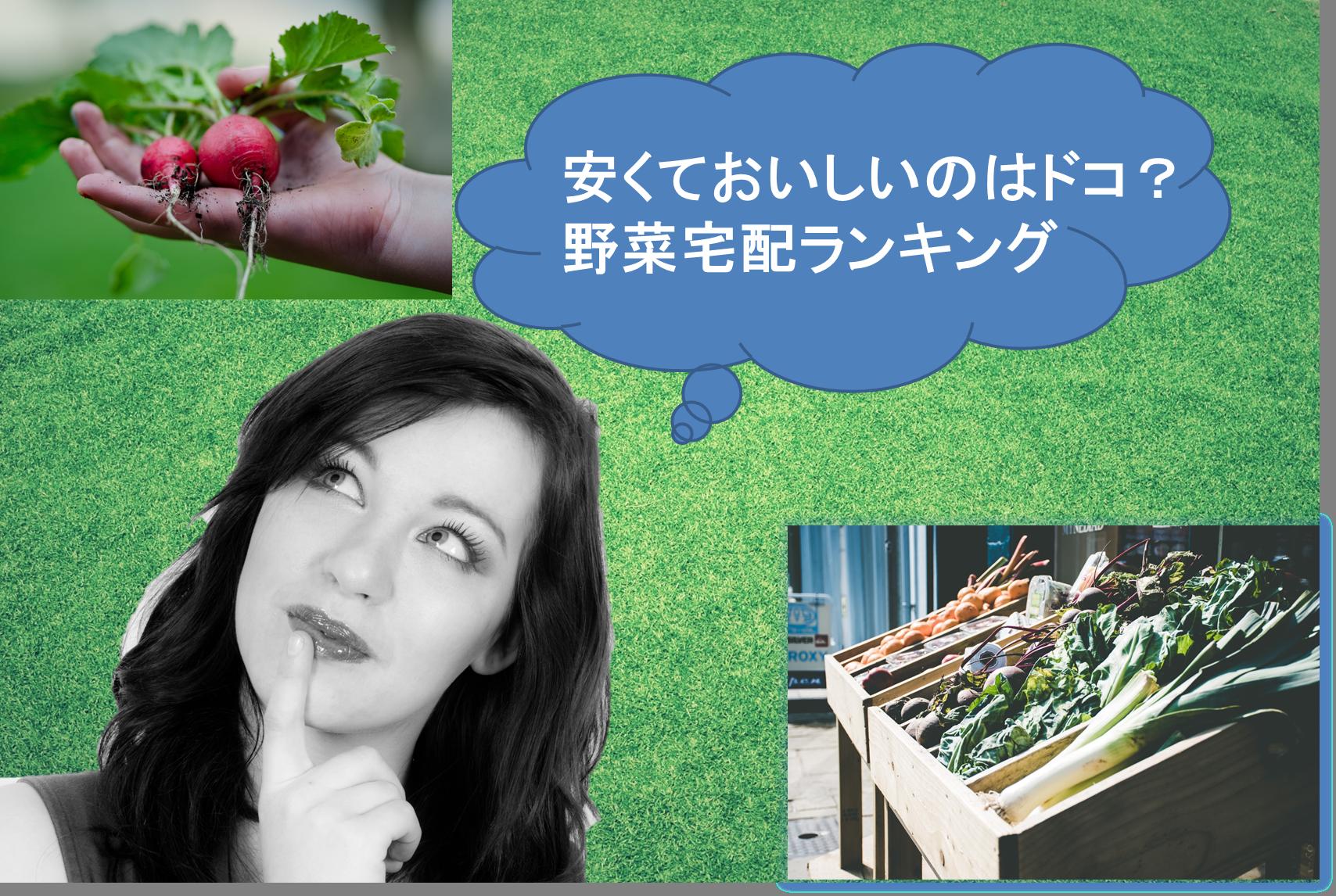 【最新版】野菜宅配のおすすめランキング!どこが美味しくて安い?